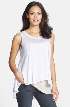 Eileen+Fisher+The+Fisher+Project+Tencel®+Jersey+A-Line+Tank+available+at+#Nordstrom