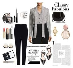 """""""Catch her at the Office"""" by soniaaicha on Polyvore featuring Bulgari, Paul & Joe, MICHAEL Michael Kors, Bobbi Brown Cosmetics, 3.1 Phillip Lim, Alexander McQueen, Michael Kors, Parker, Royce Leather and Moon and Lola"""
