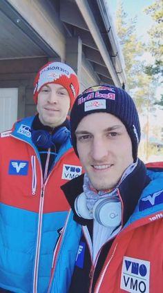 Ski Jumping, Jumpers, Athletes, Austria, Skiing, Sky, Sports, Ski, Heaven