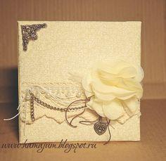 Вдохновение не только под Новый год - мягкая/тканевая открыткаShabby chik Мягкая открытка МК в стиле шебби-шик