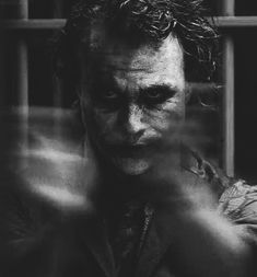 Great Heath Ledger as the Joker
