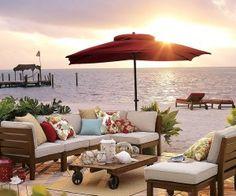 pottery barn beach furniture