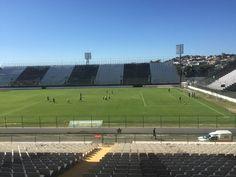 BotafogoDePrimeira: Arena, cheguei! Botafogo reconhece o campo e faz p...