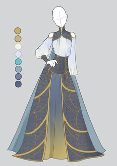 :: Commission December 03: Outfit :: by VioletKy on DeviantArt