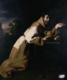 Francisco de Zurbarán - Saint Francis in Meditation [1639]