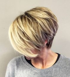 Discover these amazing pixie haircut ideas that will inspire you to try this amazing hairdo as soon as possible. Super Short Hair, Short Hair Cuts, Short Hair Styles, Short Hair Long Bangs, Short Wedge Haircut, Short Stacked Haircuts, Trendy Haircuts, Pixie Haircuts, Haircut And Color