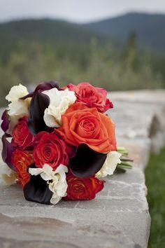 Another way to do a fall bouquet