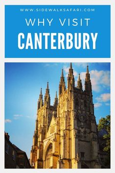 Travel England and visit Canterbury for a weekend. Discover why you should visit Canterbury. Learn about things to do in Canterbury UK including a trip to the UNESCO World Heritage listed cathedral. #England #TravelEngland #UK #UnitedKingdom #Canterbury Travel Around Europe, Europe Travel Tips, Travel Around The World, Around The Worlds, Canterbury England, Weekend City Breaks, Scotland Travel Guide, England Countryside, Road Trip