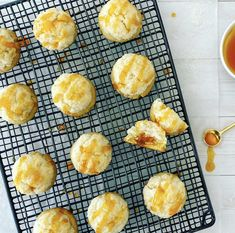 A buttery shortbread cookie base and ooye gooye apricot jam nestled under a fluffy coconut dome. This fusion between a coconut macaroon and an apricot jam filled thumbprint cookie is inspired by a traditional South African treat. Buttery Shortbread Cookies, Sugar Eggs, Coconut Macaroons, Thumbprint Cookies, Quick Bread, Baking Recipes, Vegetarian, African, Base