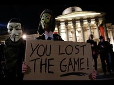 Anonymous Cyber-Seize U.S. Government Website
