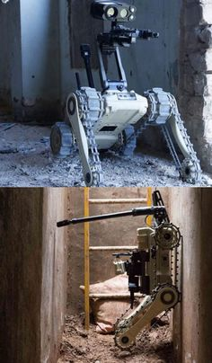 Meet the MTGR: a tactical ground robot capable of handling every terrain. The robot can not Learn Robotics, Robotics Engineering, Robotics Projects, New Technology Gadgets, Drone Technology, Drones, Crazy Robot, Military Robot, Mobile Robot