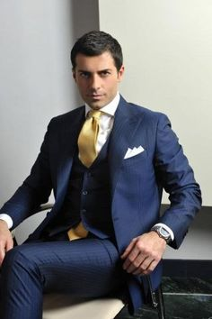 mens blue suit - Google Search