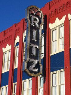 Historic Ritz Theatre in Historic Downtown Brunswick