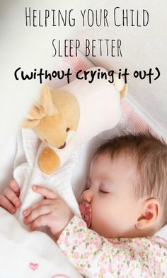 Gentle Ways To Help Your Child Sleep Through the Night (Without Crying it Out) #baby #parenting #parentingtips #attachmentparenting #breastfeeding