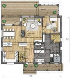 Future House, My House, Pool Shower, Building A House, House Plans, Sweet Home, Floor Plans, Construction, House Design