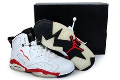 reputable site 462c6 b057a Women s Air Jordan 6 White Infra Red Black , Price   79.90 - Air Jordan  Women Shoes - Women s Air Jordan Shoes