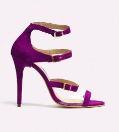 Sandale dama din piele cu toc Fatma
