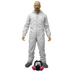 BREAKING BAD Heisenberg Red Shirt Variant Exclusive Action Figure 15cm Mezco