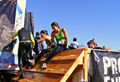 Girls are Tough Mudders too! Coming out of the Arctic Enema with smiles. #whatachamp #toughmudder