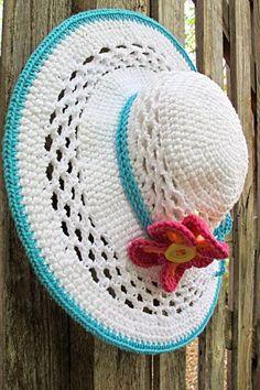 turkuaz beyaz örgü şapka modeli