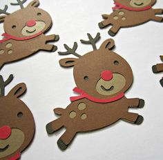 Hey, I found this really awesome Etsy listing at https://www.etsy.com/listing/165951533/die-cut-red-nosed-reindeer-set-of-5