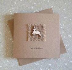 Ideas Diy Christmas Cards Handmade Reindeer - Gifts and Costume Ideas for 2020 , Christmas Celebration Simple Christmas Cards, Christmas Card Crafts, Homemade Christmas Cards, Homemade Cards, Diy Xmas Cards Ideas, Card Ideas, Christmas Greeting Cards, Christmas Greetings, Christmas Ideas