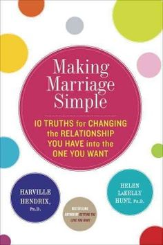 Making marriage simple : 10 truths for changing the relationship you have into the one you want