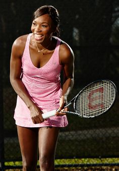 Cincy Dress - Pink Python #tennis #fashion #Venus