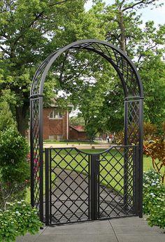 Gartenlaube Rosenbogen Pergola Rankhilfe Holzbogen Garten Holz 150x50x200 cm NEU