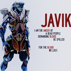 Why ME3 isn't complete without Javik ...I dig his hatred.