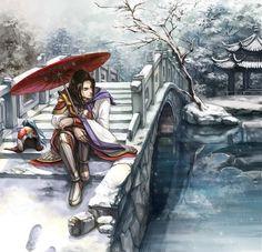 Tags: Fanart, Dynasty Warriors, Pixiv, Zhou Yu