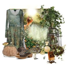 """""""Celtic Garden"""" by pusja76 ❤ liked on Polyvore featuring art"""