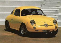 1958 850 Record Monza Fiat Abarth (Zagato)