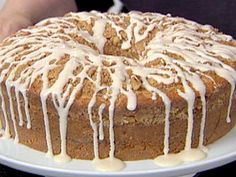 Sour Cream Coffee Cake. Took it to work. Not a piece left when it was time to come home.