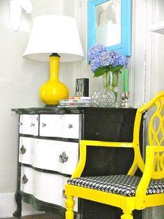 The House | My Old Country House  cute dresser