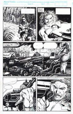 X-O Manowar #1 p.12  Enhanced - BWS & Layton Comic Art