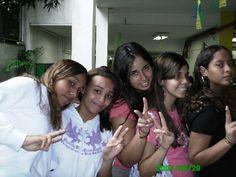 Priscila, Marcele, Bárbara e Leticia