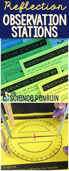 Observations Stations are activities that allow students hands-on experiences through 6 centers all focusing on a very specific concept.