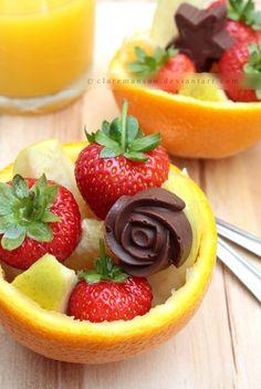 Summer fruit salad~ <3