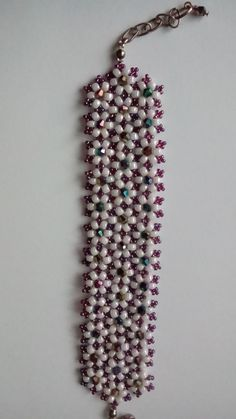 praca wykonana z koralików toho przez Annę D.