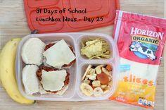 31 Days of School Lunchbox Ideas - Day 25   5DollarDinners.com