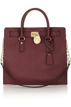 Michael Kors handbag {love this color} Hamilton Large Textured tote
