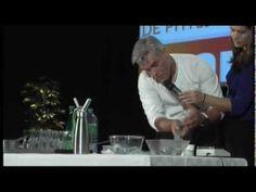 Démonstration de cuisine moléculaire par Jean Luc Charles