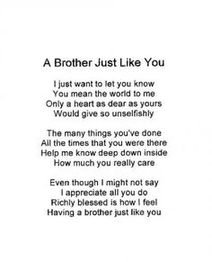 17 I Love My Brother Quotes – True Simple Famous Quotes – The Shinning Humor Prayer For My Brother, Love My Brother Quotes, Prayers For Sister, I Love My Brother, Sister Quotes, Sister Prayer, Happy Bday Brother Quotes, Happy Birthday Quotes For Him, Birthday Wishes For Brother
