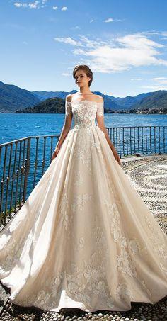Milla Nova Bridal 2017 Wedding Dresses kristina / http://www.deerpearlflowers.com/milla-nova-2017-wedding-dresses/16/