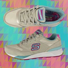 Rock a retro vibe in the new #MTrainSkechers styles. http://spr.ly/6005BYXKJ