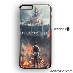 Attack on titan iPhone 6 case by donecases.com #attackontitan #iphone6case #applecase