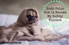 I've become so used to chronic pain / I almost depend on it. #codependence Endometriosis Pain: How it Became My Safety Blanket http://onelofajourney.com/2017/03/17/endometriosis-pain-how-it-became-my-safety-blanket/