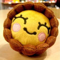 It's an egg tart plushy! =O