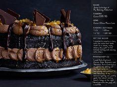 Double Chocolate Salted Caramel Cake